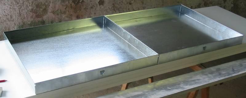 Fabrication d'une cage en plastique . Tiroirs1